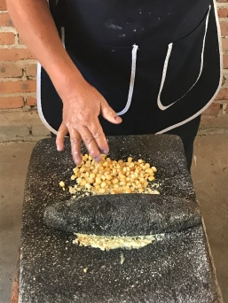 Agustin Gonzales, Mexico -- making tortillas.